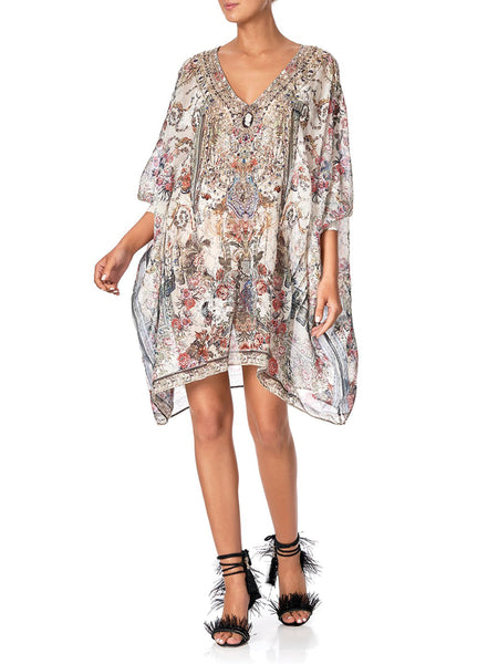 Short Kaftan With Cuff