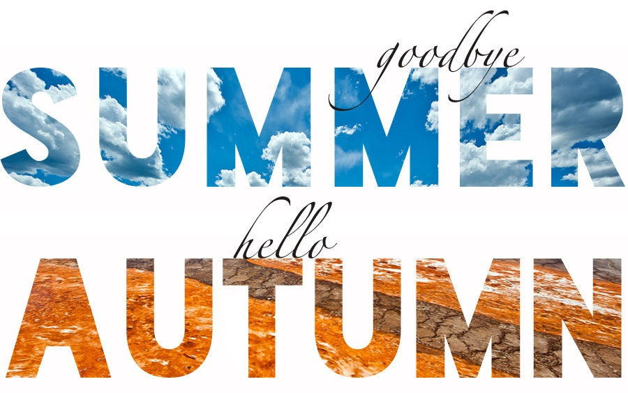 GOODBYE SUMMER, HELLO FALL!!!