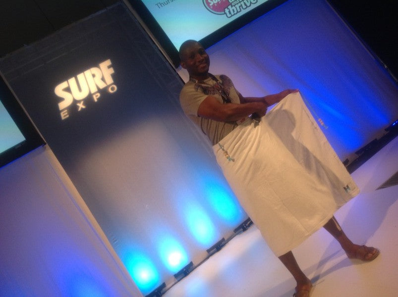 Hilaire Productions attends Surf Expo 2013