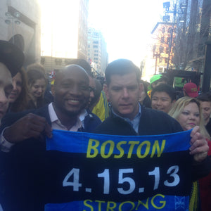 Will Hilaire, President of Hilaire Productions Part of the Sports Illustrated Boston Strong April Cover!