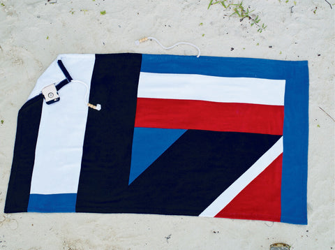 Geo Plus Beach Towels