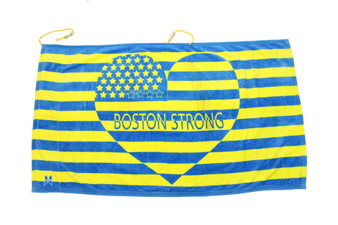 Boston Strong Beach Towel