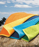 Chic Reversible Beach Towel