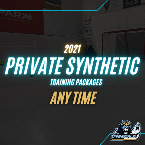 Private Goalie Synthetic Training (Packages , Spring/Summer 2021)
