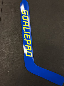 GoaliePro GP1 Premium Foamcore Stick Blue/Yellow