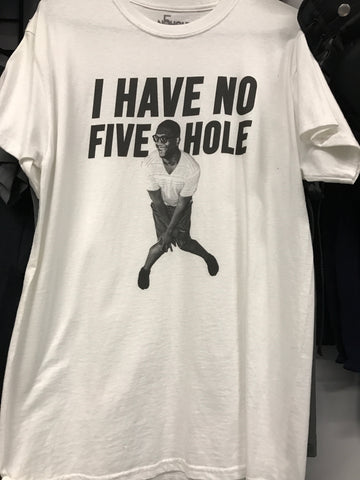 I Have No Five Hole Original Weekes Tee