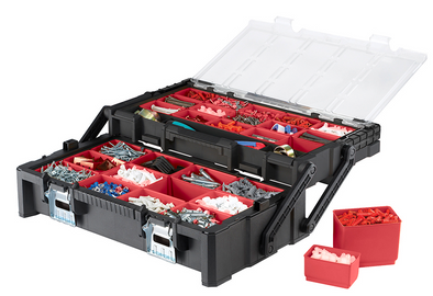 "Keter 22"" Cantilever Organizer Toolbox"