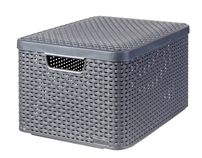 Curver Knit Style Storage Box (large)