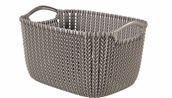 Curver Rectangular Knit Basket (8lt)