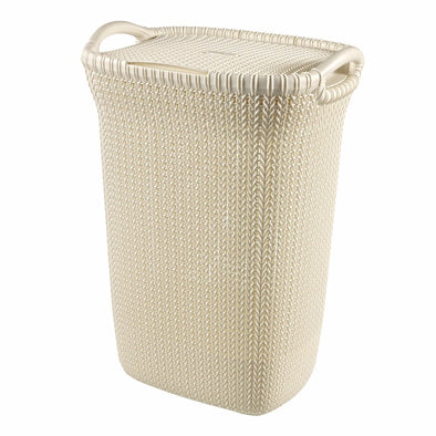 Curver 57lt Knit Laundry Hamper