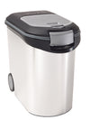 Curver Portable 35lt/12kg Pet Food Storage Container (Silver)