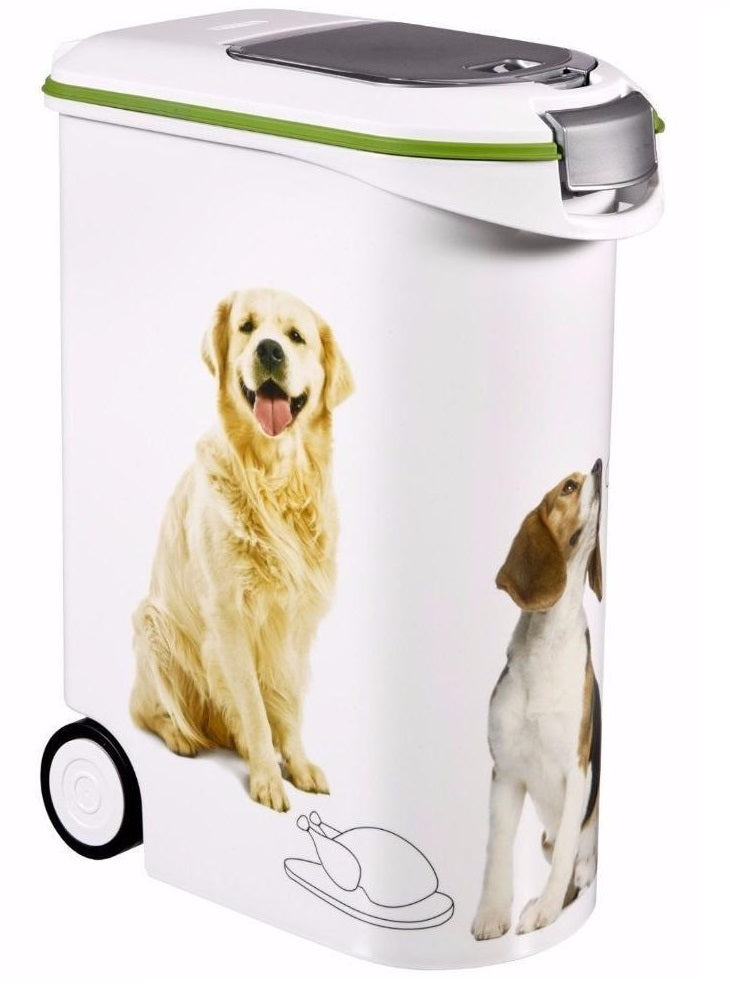 Curver Portable 54lt 20kg Pet Food Storage Container Ketergroup