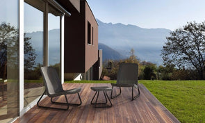 Keter Rio Patio Furniture Set - Graphite