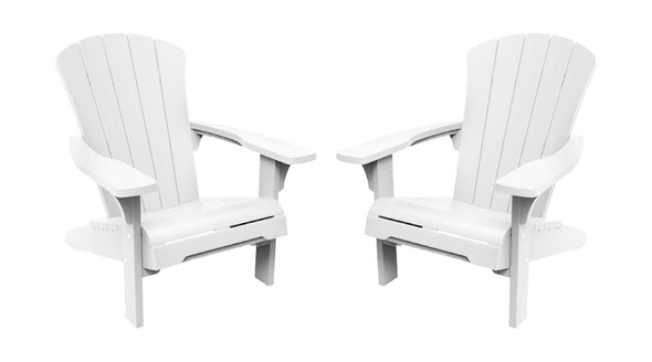 Keter Troy Adirondack Chair - 2 Pack