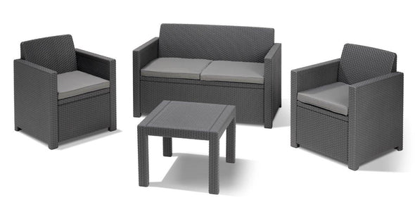 Keter Alabama Outdoor Patio Furniture Set