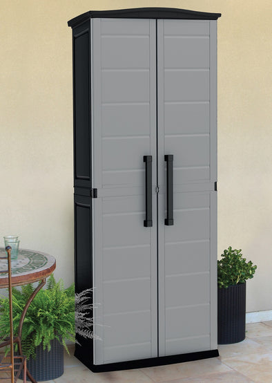 Boston Tall Indoor/Outdoor Garage Storage Cabinet