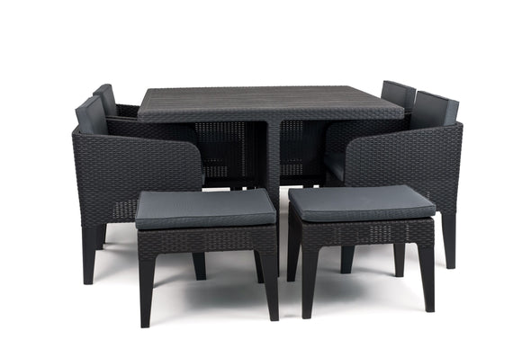 Keter Columbia Outdoor Dining Set