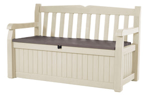 Eden Outdoor Storage Garden Bench