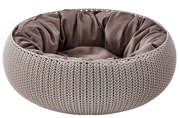 Curver Cozy Pet Bed (Beige)