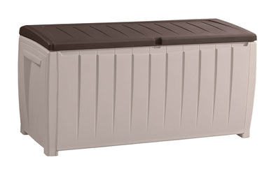 Novel Outdoor Storage Box (Brown/Beige)