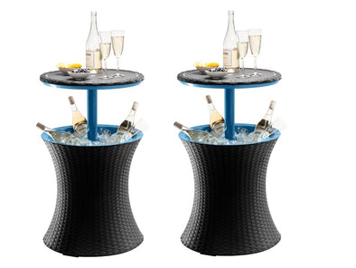 2 x Keter Outdoor Furniture Pacific Ice Cool Bars