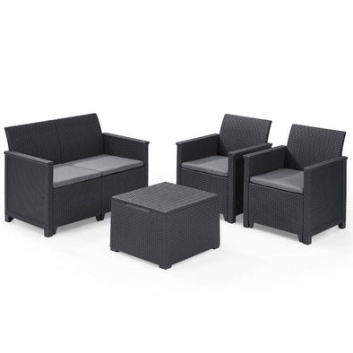 Keter Emma Four Seater Lounge Set