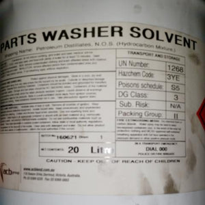 Power Plus Parts Washer Solvent