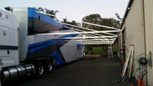 Racecar Trailer Awning per bay