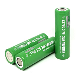 IMREN IMR 21700 10A 4800mAh High Drain Flat Top Rechargeable Battery