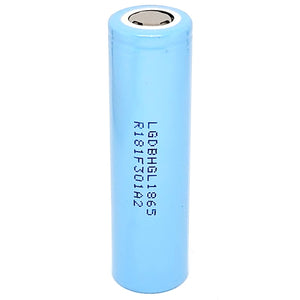LG Chem INR 18650 HG2L 20A 3000mAh High Drain Flat Top Rechargeable Battery