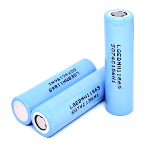 LG INR 18650 MH1 10A 3200mAh High Drain Flat Top Rechargeable Battery