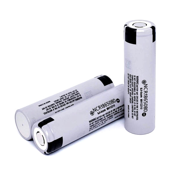 Panasonic NCR18650BD 18650 10A 3180mAh High Drain Flat Top Rechargeable Battery