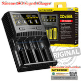 NITECORE SC4 Intellicharger Universal 4-Bay Smart Digital Display Rechargeable Battery Superb Quick Charger