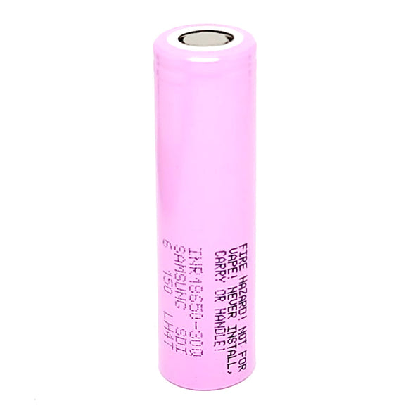 Samsung INR 18650 30Q 15A 3000mAh High Drain Flat Top Rechargeable Battery