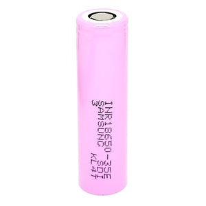 Samsung INR 18650 35E 8A 3500mAh High Drain Flat Top Rechargeable Battery