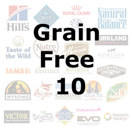 Grain Free 10 - Pet Picked dog food samples