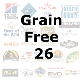 Grain Free 26 - Pet Picked dog food samples