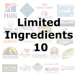 Limited Ingredients 10 - Pet Picked dog food samples