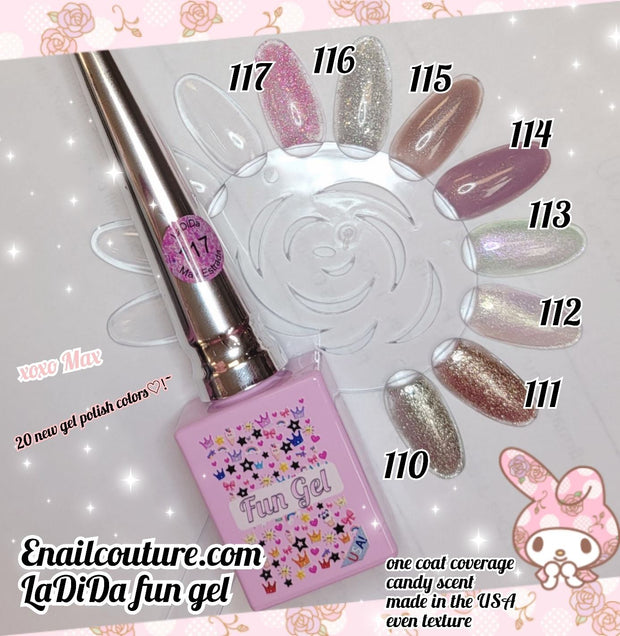 LaDiDa FUN gel collection 2021  !~