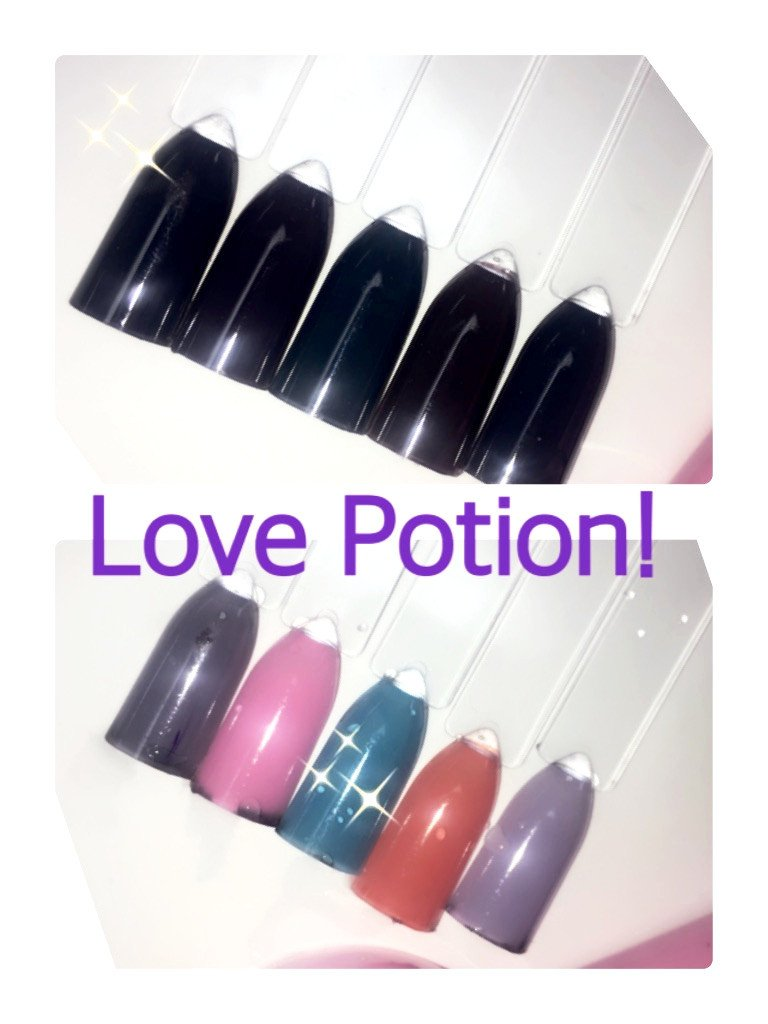 Love potion, Color changing (precious minerals)