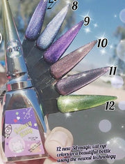 Space Galaxy Kitty Gels !~ ( NEW 5D cat eye colour gels 16 colours )