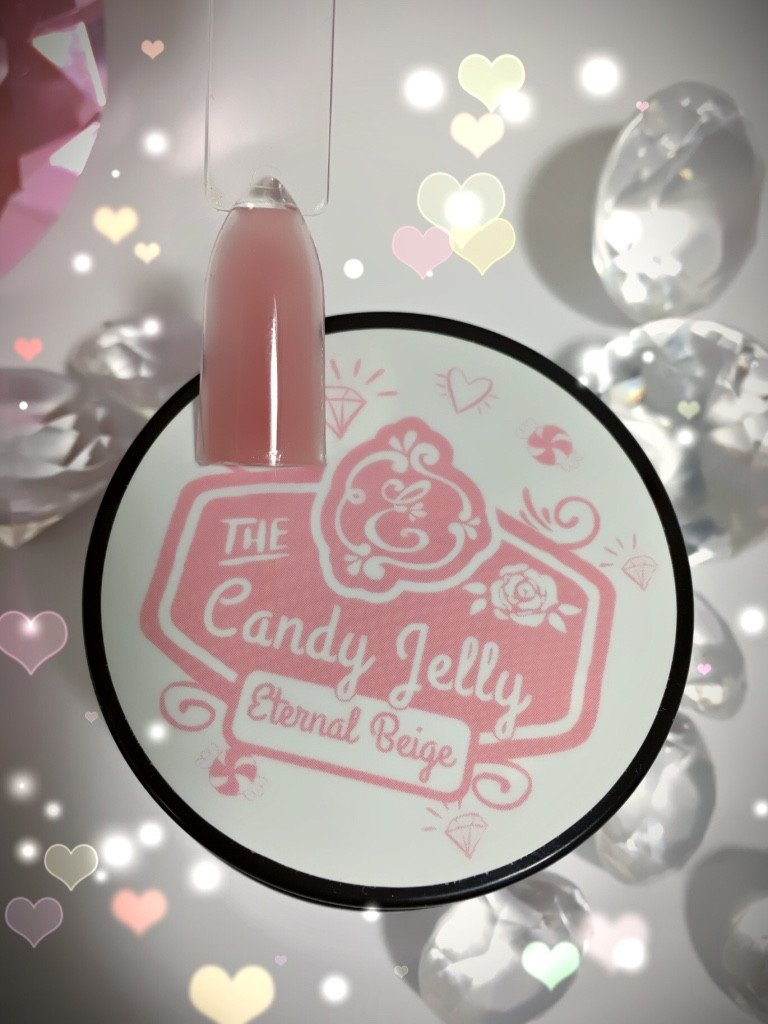 Candy Jelly LED/UV Builder Gel, Eternal Beige~!