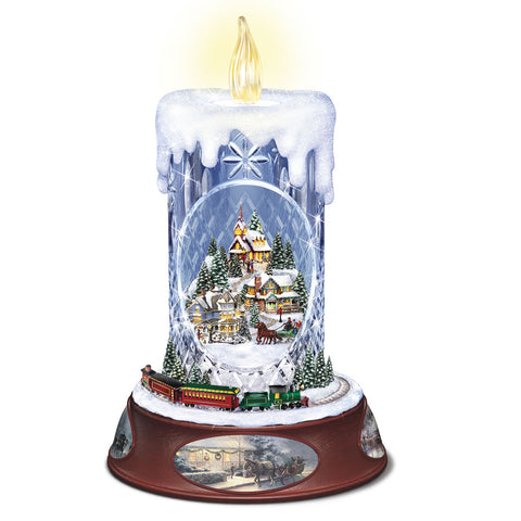 Thomas Kinkade Crystal Candle