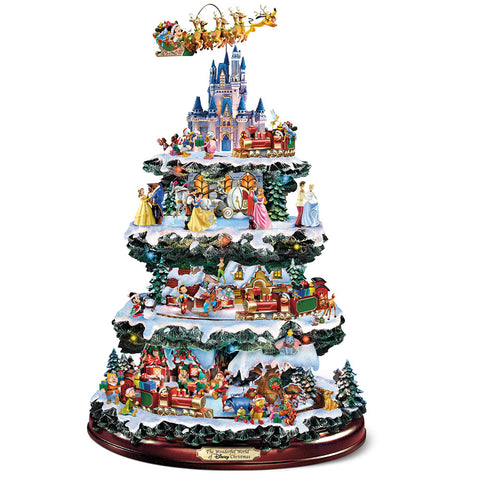 Disney Christmas Carousel Tree