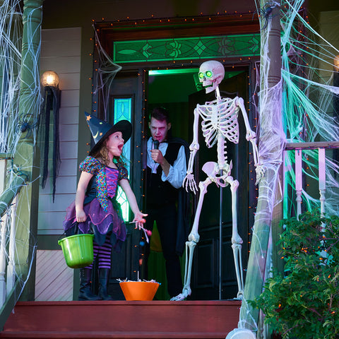 The Ventriloquist's Porch Skeleton