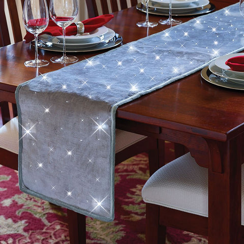 Cordless Twinkling Table Setting
