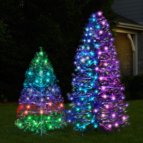 3D Floating Lightshow Christmas Tree