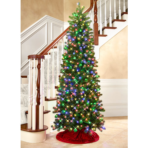 7' Slim Christmas Tree