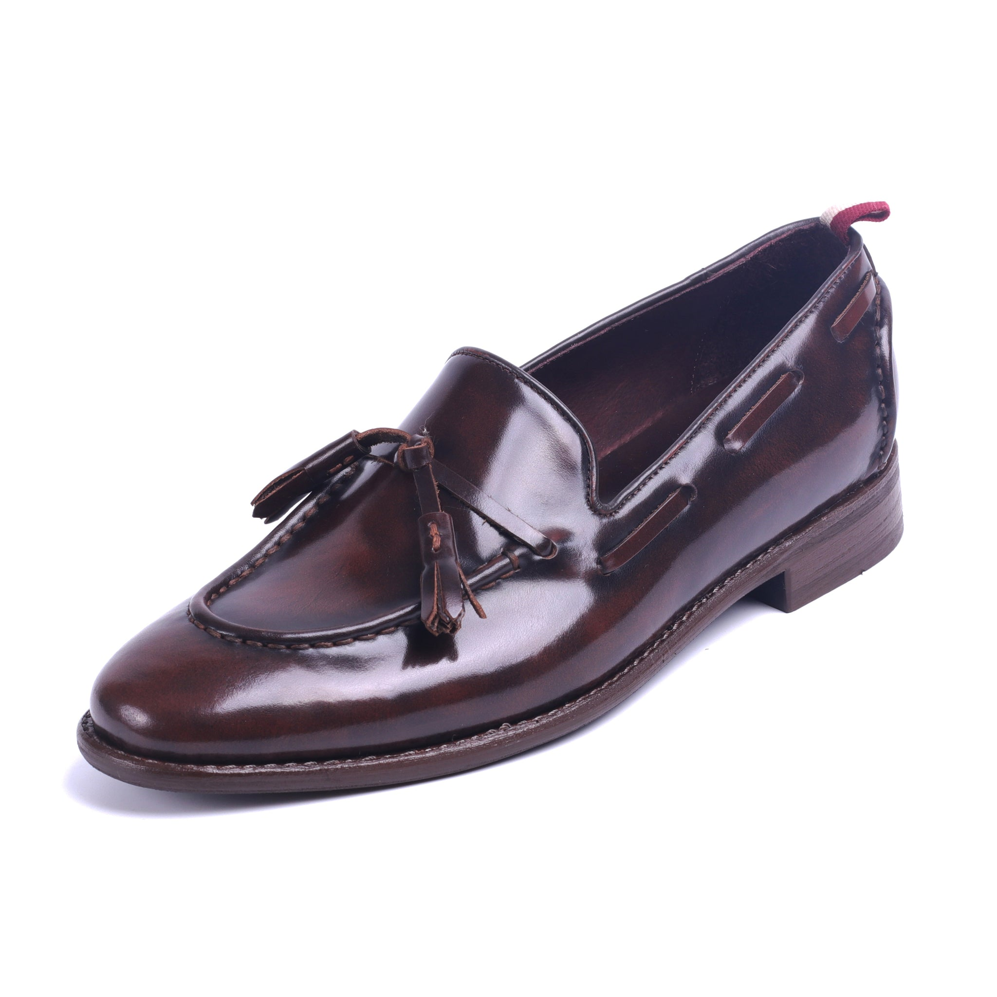 GYW Tassel Loafer - Grape Wine