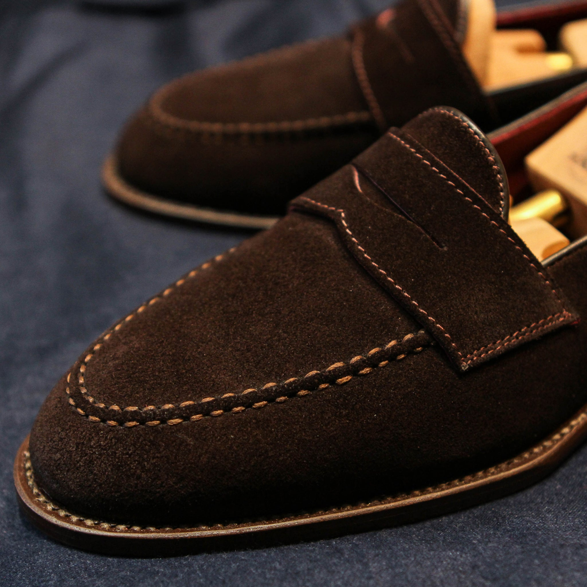 ML Penny Loafer - Suede D.Brown